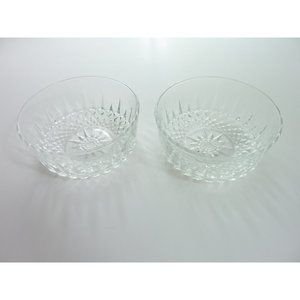 Arcoroc France Clear Cut Glass Salad Dessert Bowl